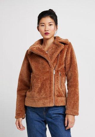 PRESS BIKER - Winter jacket - tan
