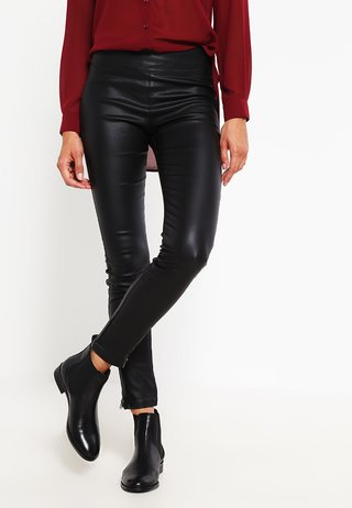 BELUS KATY - Leggings - Hosen - pitch black