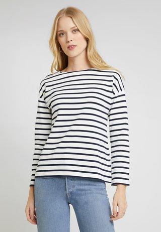 Langarmshirt - white/dark blue