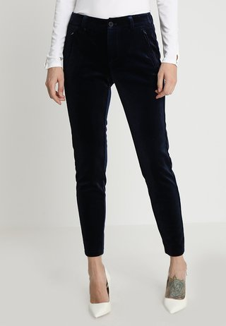 ANDORA PANTS TESSA FIT - Stoffhose - eclipse blue