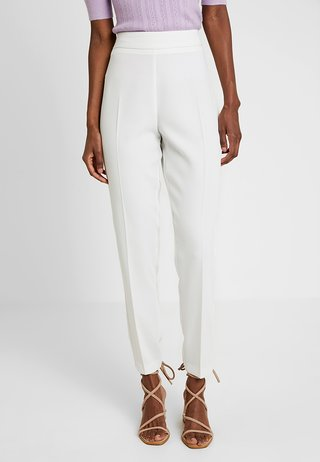 TAPERED TROUSER - Pantalones - ivory