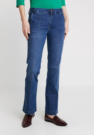 DRCOAH FASHION FIT - Flared Jeans - castro blue