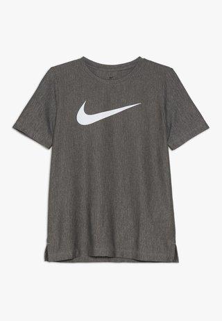 CORE - Print T-shirt - black/white