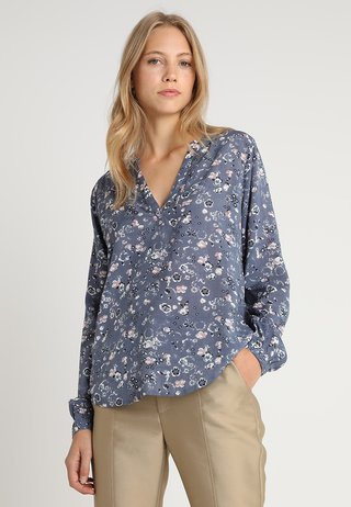 TILLY BLOUSE - Bluser - folkstone gray