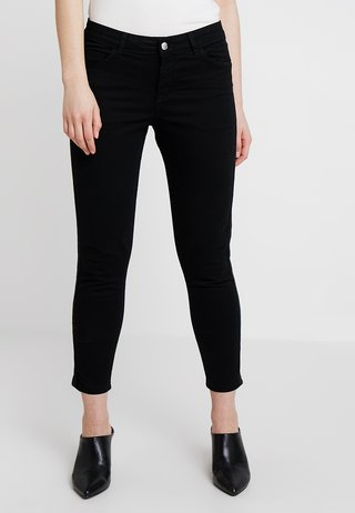 SHAPE ANKLE - Slim fit jeans - black