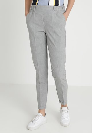 NANCI JILLIAN PANT - Bukser - light grey melange