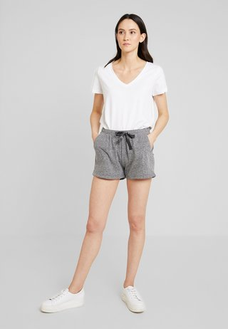 Shorts - grey/black melange
