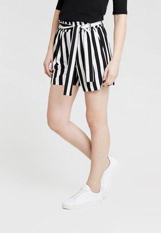 KAALVA - Shorts - black deep