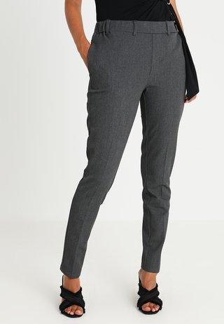 RONIE PANTS - Stoffhose - dark grey melange