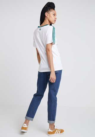 REGULAR TEE - T-shirt imprimé - white