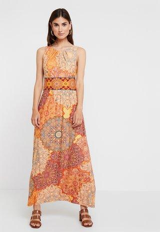 TILE DRESS - Maxikjole - orange