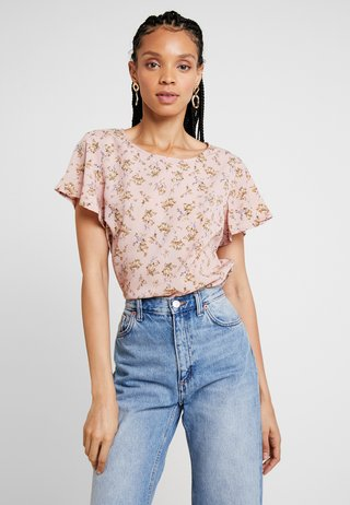 VIMARGOT MITTY - Blusa - rose smoke