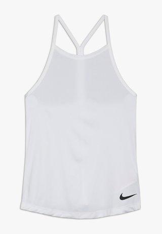 DRY TANK ELSTKA - Sports shirt - white/black
