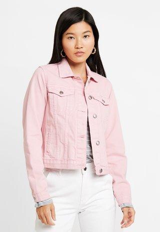 JACKET - Jeansjacke - pink