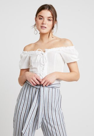 LARA BOUSE - Bluser - off-white