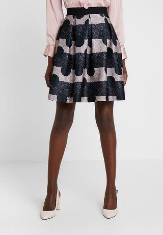 Áčková sukně - black/rose
