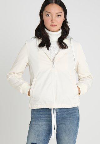 Summer jacket - raw alabaster