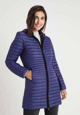 Krátký kabát - ultra violet