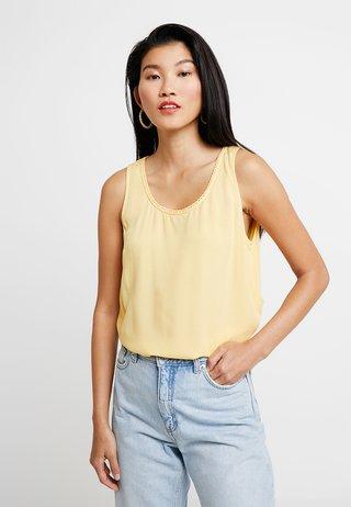 Blouse - daylily yellow