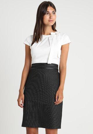 Shift dress - grey/black dobby