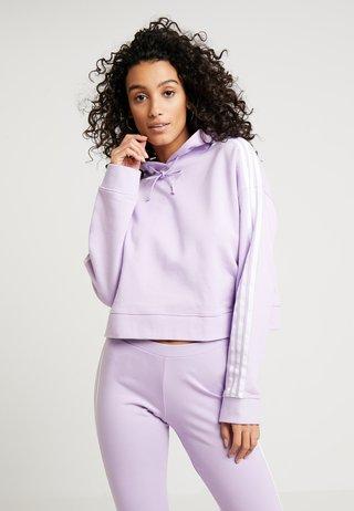 CROPPED HOODIE - Hoodie - purple glow