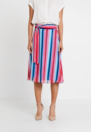 KURZ - A-snit nederdel/ A-formede nederdele - multi-coloured