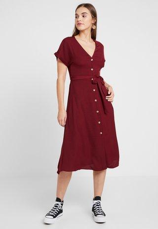 Skjortklänning - dark burgundy