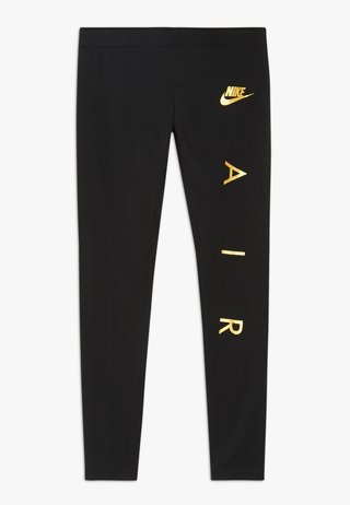 FAVORITES AIR - Legging - black/metallic gold