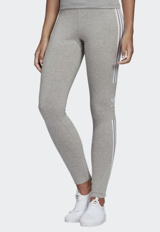 TREFOIL TIGHTS - Pantaloni sportivi - grey