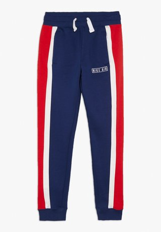 AIR PANT - Tracksuit bottoms - blue void/white/university red