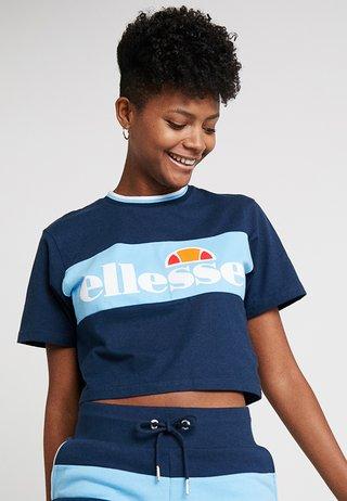 ABBITHA - T-Shirt print - navy/light blue