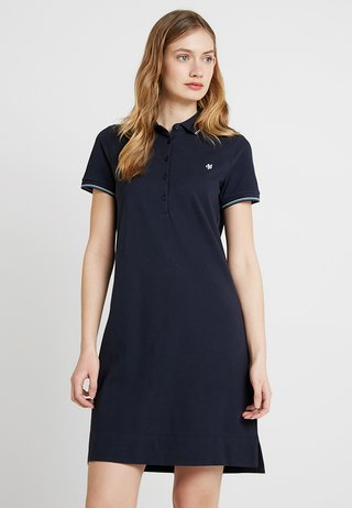 SLIGHTLY A-SHAPED - Freizeitkleid - deep atlantic