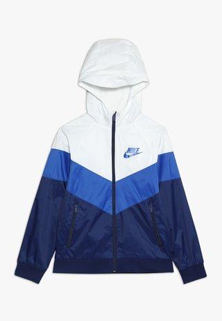 Training jacket - summit white/game royal/blue void