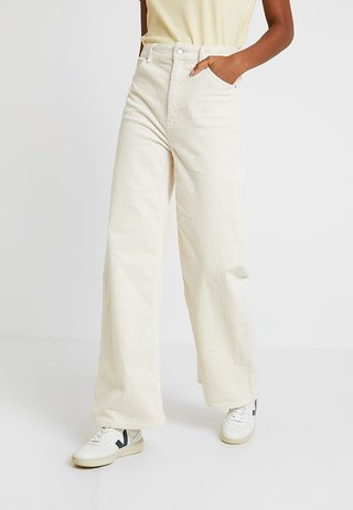 ACE TROUSER - Stoffhose - off white
