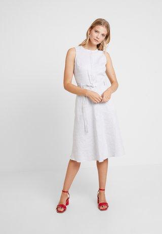 STRIPE SHIRTDRESS - Blusenkleid - navy/white