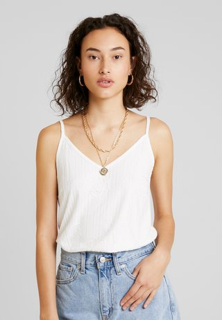 FREYA STRAP - Top - tofu white