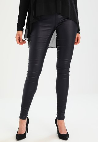 ADA COATED - Leggings - Hosen - midnight marine