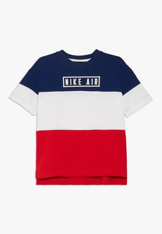 AIR - T-shirt con stampa - blue void/university red/white