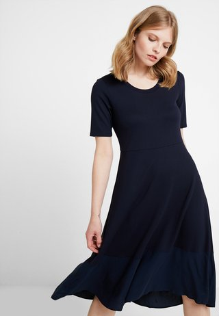 DRESS LONG - Jersey dress - midnight blue
