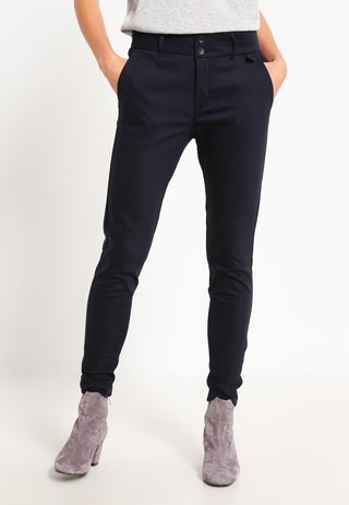 BLAKE NIGHT - Trousers - navy
