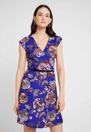 Jerseykleid - purple/blue