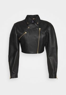 Versace Jeans Couture - Leather jacket - nero