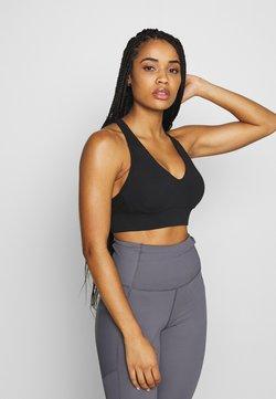 Cotton On Body - WORKOUT TRAINING CROP - Sport-bh met medium support - black