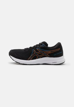 ASICS - GEL CONTEND 7 - Zapatillas de running neutras - black/marigold orange