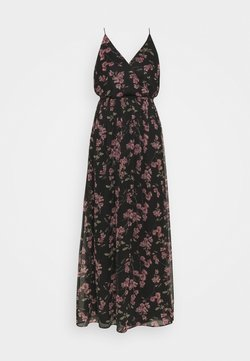 Vero Moda - VMWONDA WRAP DRESS - Maxi-jurk - black