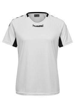 Hummel - CORE TEAM  - T-shirt med print - white