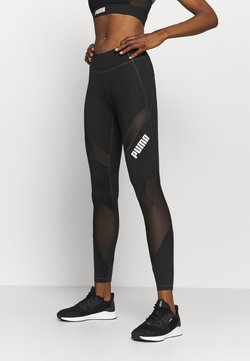 Puma - PAMELA REIF X PUMA COLLECTION MID WAIST - Tights - black