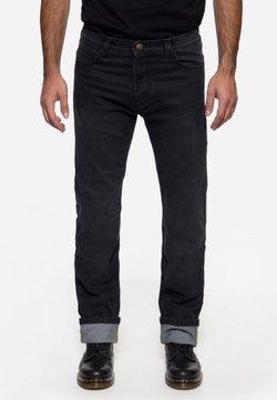 King Kerosin - Jeans Straight Leg - schwarz