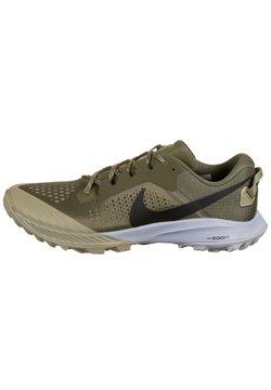 Nike Performance - Laufschuh Trail - medium olive / black / medium khaki