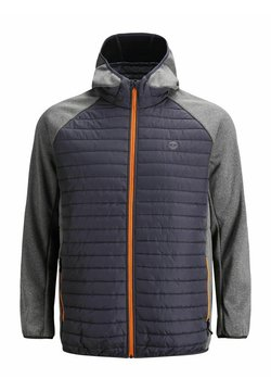 Jack & Jones - PLUS SIZE GESTEPPTE - Winterjacke - grey melange